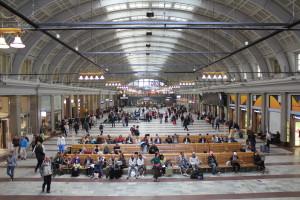 tågstation i Stockholm